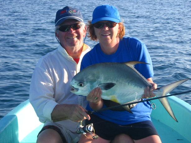 John and Linda with permit February 2006